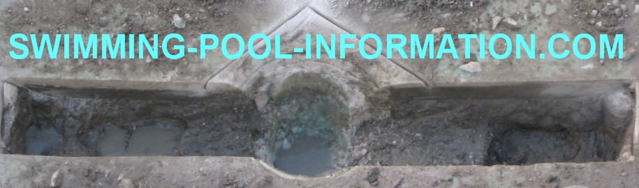 Installing a swimming pool safety drain - How soon can you swim after plastering pool ...
