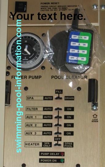 Swimming Pool Controls Non Digital