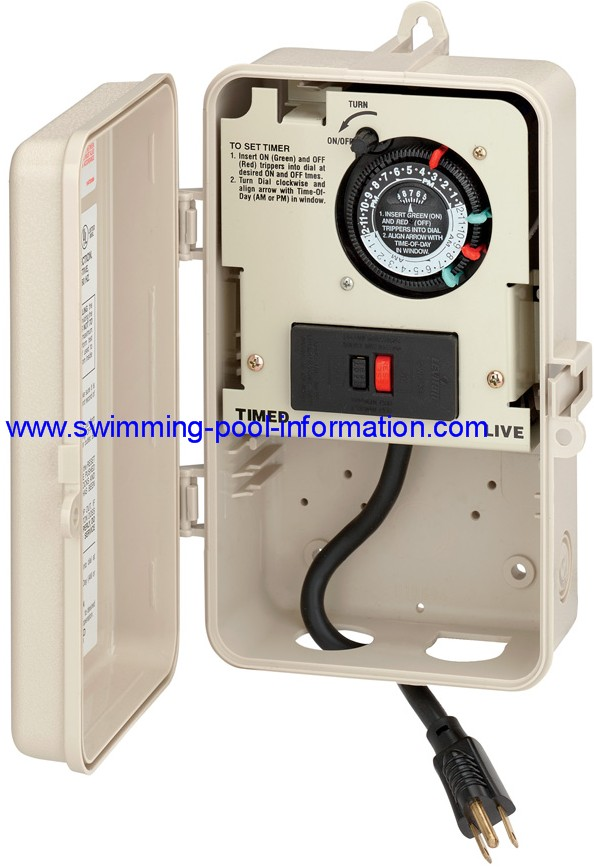 Swimming Pool Pump Timers