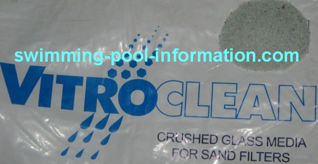 Sand swimming pool filters for Glass filter media for swimming pools