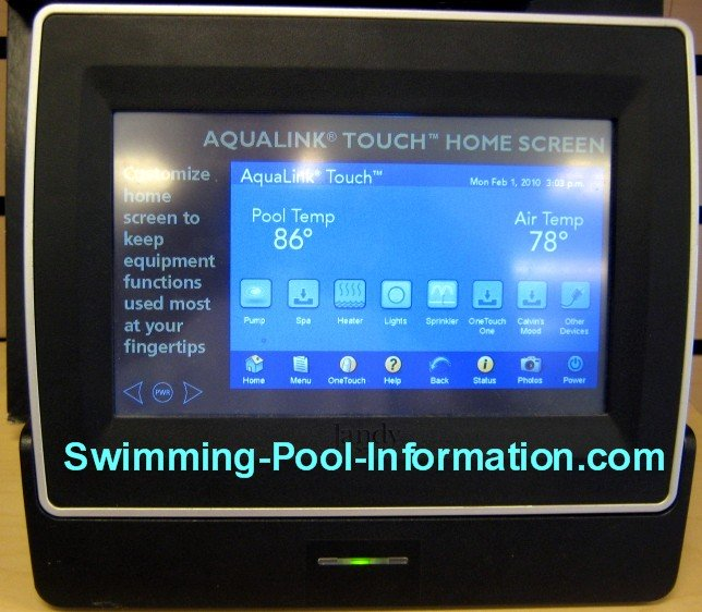Swimming Pool Controls
