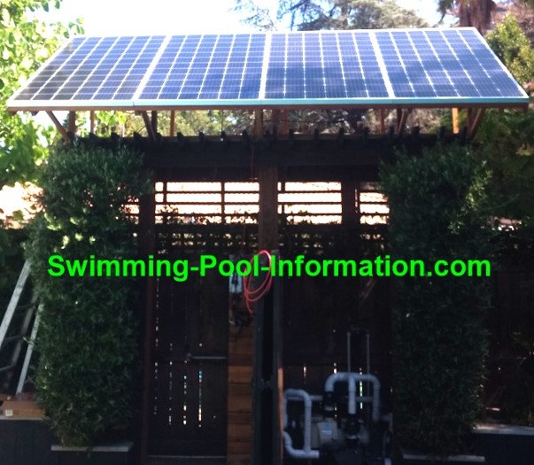 Solar Powered Swimming Pool Pumps